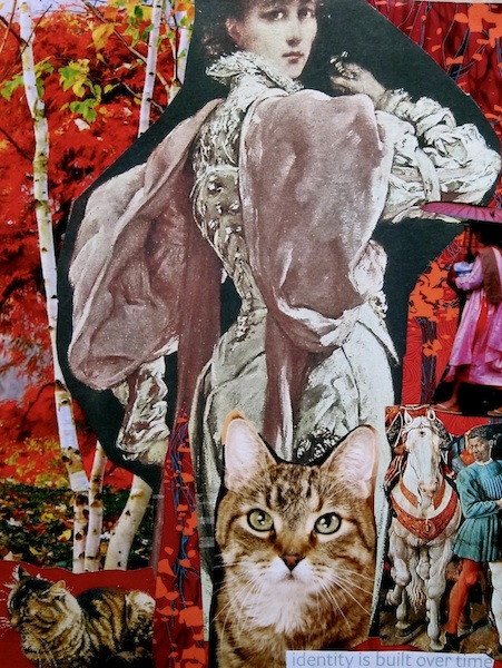 ARTIST: red collages