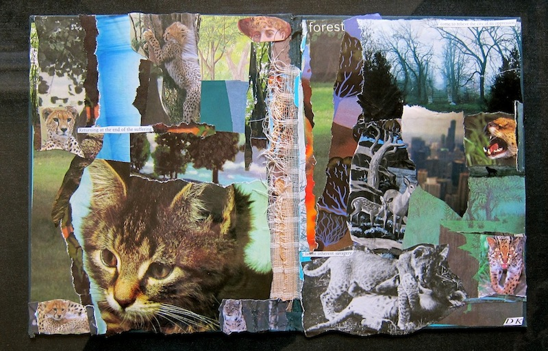 ARTIST: cat collages