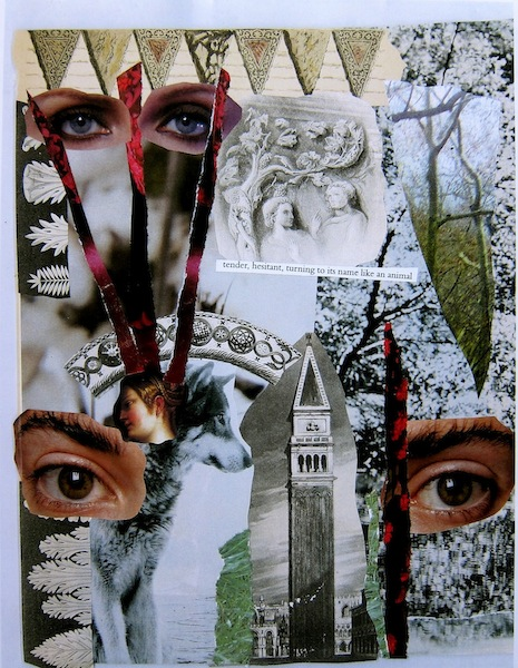 ARTIST: collages of eyes